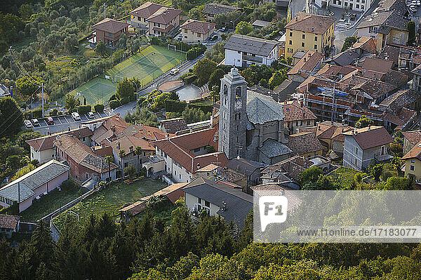 Europa  Italien  Lombardei  Lario See  Comer See  Perledo