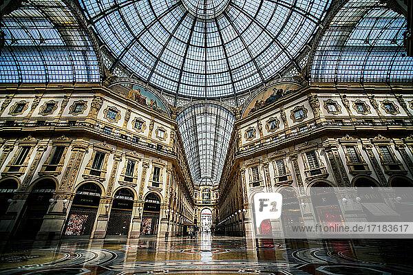 Italien  Lombardei  Mailand  Galleria Vittorio Emanuele II