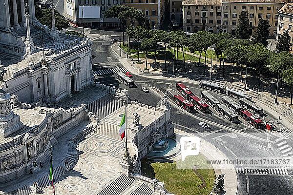 Italien  Latium  Rom  Vittorio Emanuele Denkmal