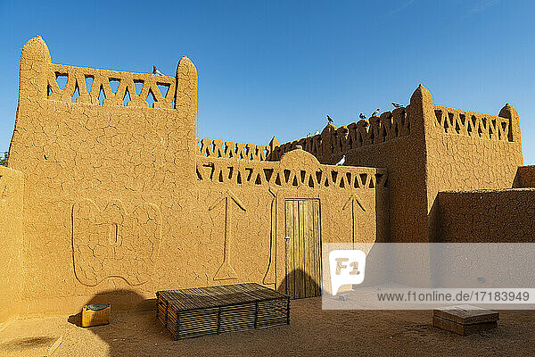 Historic center of Agadez  UNESCO World Heritage Site  Niger  Africa