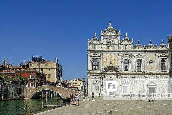 Scuola Grande di San Marco  Campo Santi Giovanni e Paolo  Castello  Venedig  Venetien  Italien  Europa