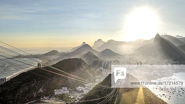 Zuckerhut  Rio de Janeiro - Brasilien  Brasil  Pao de Açúcar