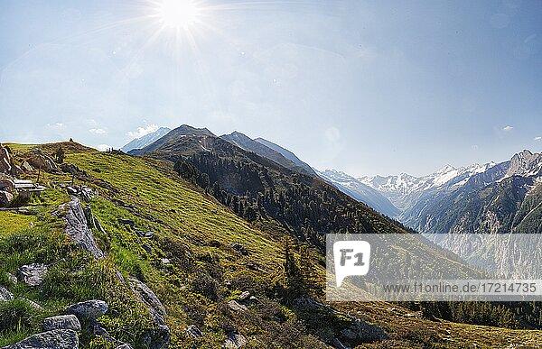 Oesterreich  Tirol  Zillertal  Mayrhofen  Ahorn| Austria  Tyrol  Ziller - Valley