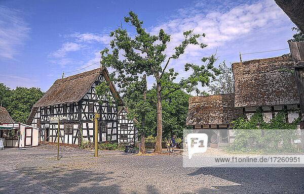 Freilandmuseum Kommern in Nordrhein-Westfalen  NRW  Deutschland  Europa .
