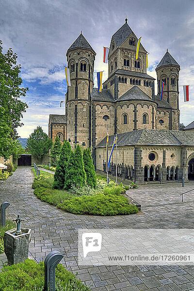 Benediktinerabtei Maria Laach in Glees  Rheinland-Pfalz  Deutschland  Europa