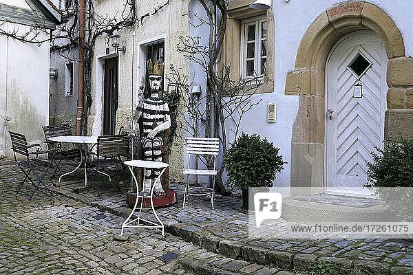 Altstadt Bad Wimpfen im Kraichgau  Landkreis Heilbronn  Baden-Württemberg  Süddeutschland  Deutschland  Europa.