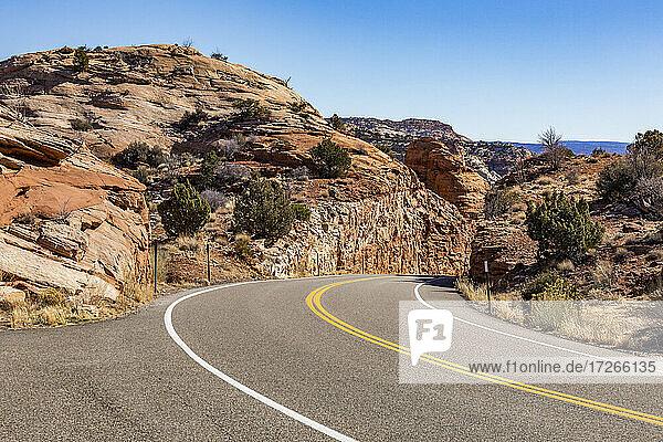 USA  Utah  Escalante  Scenic Highway 12 durch Grand Staircase-Escalante National Monument