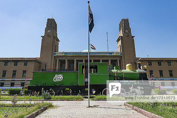 Baghdad Central Railway Station  Baghdad  Iraq  Middle East