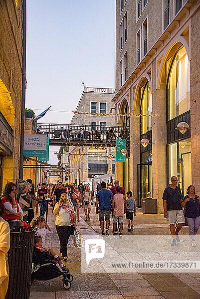 Asien  Naher Osten  Israel  Jerusalem  Altstadt  Mamilla Avenue