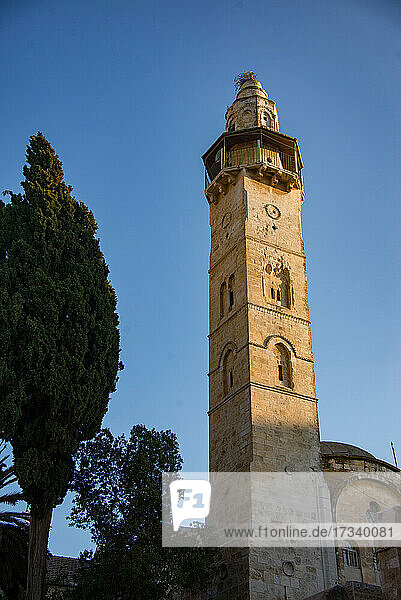 Asien  Naher Osten  Israel  Jerusalem  Altstadt  Omar-Moschee