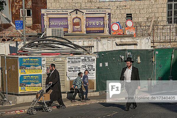 Asien_Naher Osten_Israel_Jerusalem_Mea Shearim_Haredi Juden