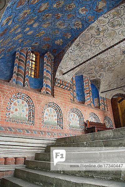 Europa  Russische Föderation  Moskau  Roter Platz  Basilius-Kathedrale