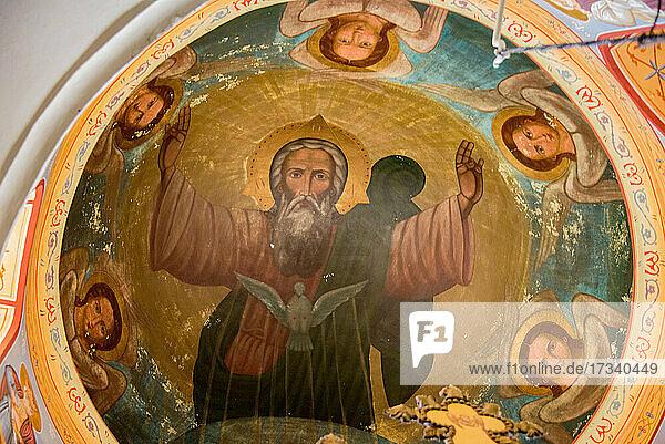 Asien  Naher Osten  Israel  Palästina  Jericho  Kloster der Versuchung  Deir al Krntl