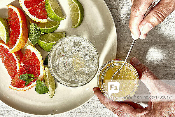 Fruchtperlen für Bubble Tea