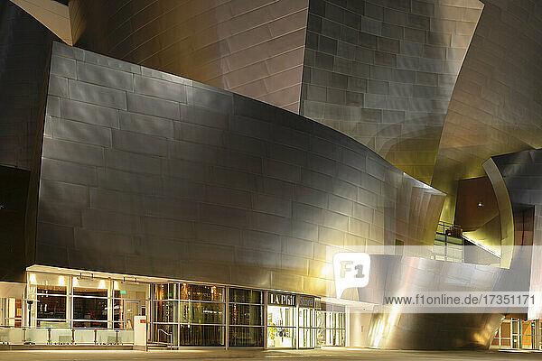 Walt Disney Concert Hall  Architect Frank Gehry  Los Angeles  California  United States of America  North America