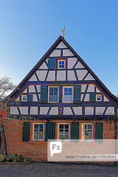 Fachwerkhaus  erbaut 1851
