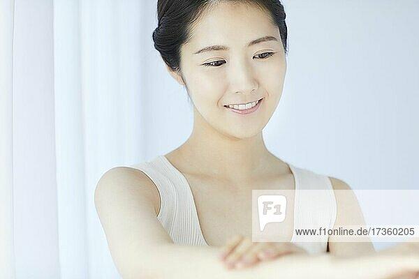 Japanische Frau Schönheit Porträt
