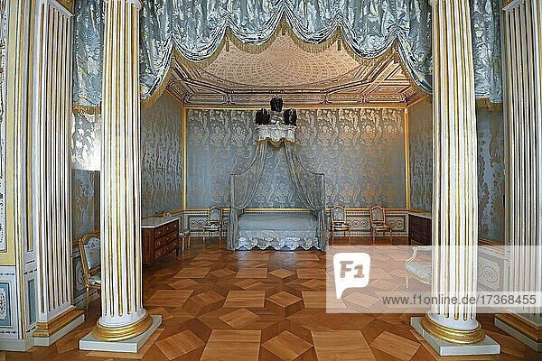 Paradeschlafzimmer  Rheinsberg Castle  Brandenburg  Germany  Europe Paradeschlafzimmer, Rheinsberg Castle, Brandenburg, Germany, Europe