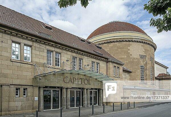 Capitol  Veranstaltungsgebäude  ehemalige Synagoge in Offenbach am Main  Hessen  Deutschland  Europa Capitol, Veranstaltungsgebäude, ehemalige Synagoge in Offenbach am Main, Hessen, Deutschland, Europa