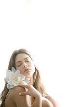 Frau,Blume,Beauty