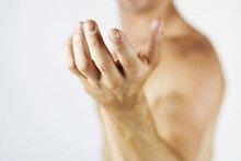 Ein männlicher Akt, Hand