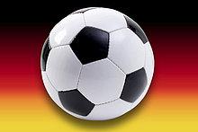 frontal ,Fahne ,Composite ,Fußball ,deutsch