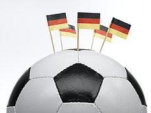 Fahne ,durchbohren ,Fußball ,Ball Spielzeug ,deutsch