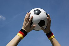 halten,Himmel,Fußball,Ball Spielzeug