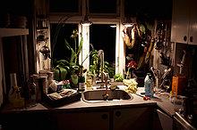 A small kitchen Denmark.