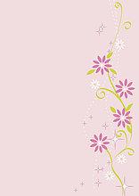 Blumenmuster, Illustration