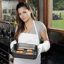 Jugendlicher,halten,Keks,Mädchen,gebacken