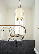 Stuhl,Lampe,Obergeschoss,Decke