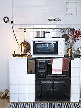 Küche,Kerze,Ofen