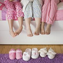 Schlafanzug,Hispanier,Tochter,Mutter - Mensch