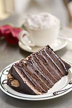 geben ,Reichtum ,Kuchen ,Schokolade ,Kaffee ,rühren ,Sahne