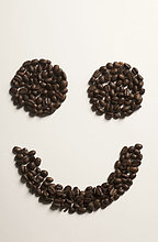 Kaffeebohne ,arrangieren ,Kaffee ,Bohne ,Smiley