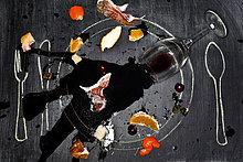 Glas ,Lebensmittel ,Wein ,verschütten ,Schreibtafel, Tafel