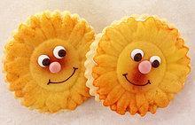 Sonnenblume, helianthus annuus ,Keks