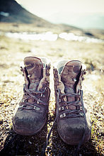 Stiefel ,Paar, Paare ,wandern ,schmutzig ,Landschaft