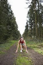 Ländliches Motiv, ländliche Motive ,Training ,Athlet