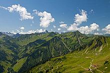 Panorama ,Österreich ,Kleinwalsertal ,Vorarlberg ,Allgäuer Alpen