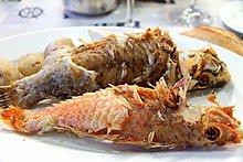 Teller ,Fisch, Pisces ,Spanien