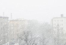 durchsichtig,transparent,transparente,transparentes,Himmel,Großstadt,Schneeflocke