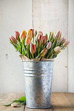 bunt,Blumenvase,Tulpe,verzinkt