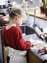 Produktion,Keks,Mädchen