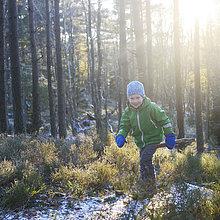 gehen,Junge - Person,Wald