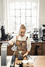 Vorbereitung,Cafe,barista,Kaffee,Tresen
