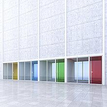 Büro,moderne Architektur,Innenhof,Hof
