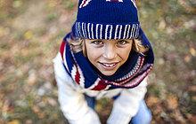 Portrait,blond,Mode,Junge - Person,Herbst,Kleidung,stricken