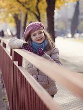 Winter,lächeln,Kleidung,Mädchen